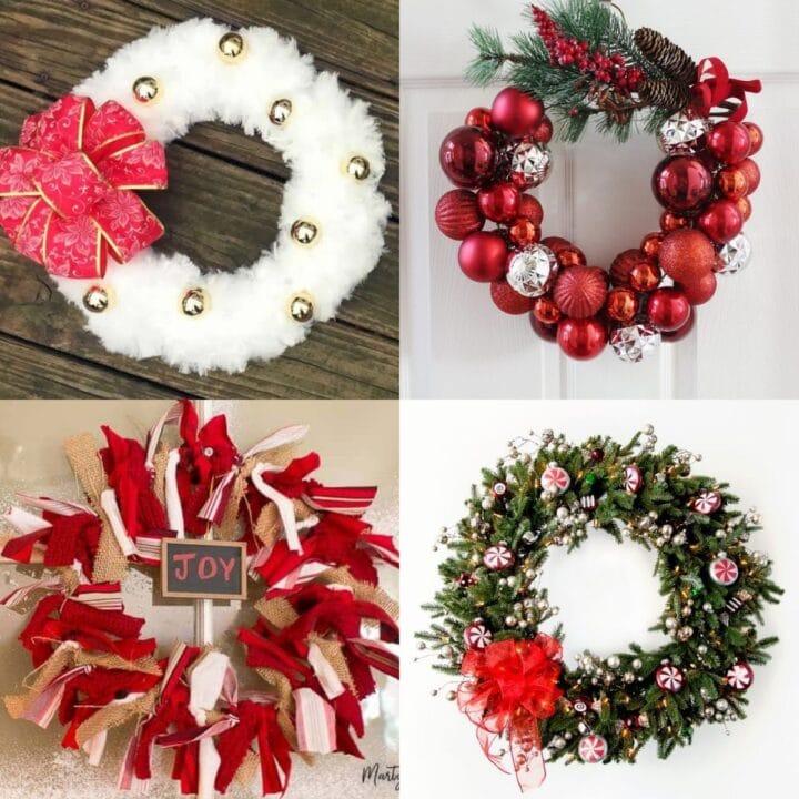 20 Unique Christmas Wreath Ideas