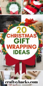 20 christmas gift wrapping ideas