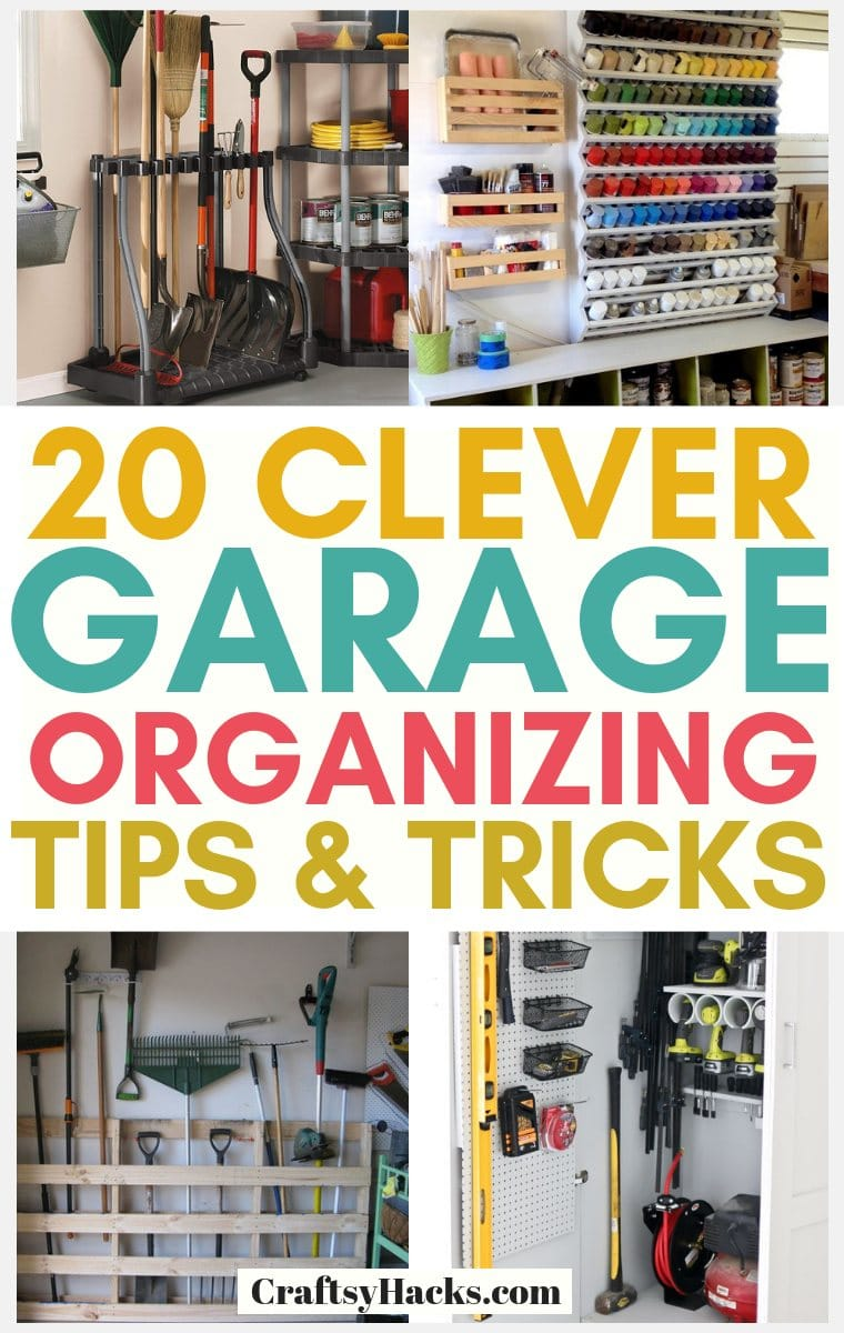 garage organizing hacks