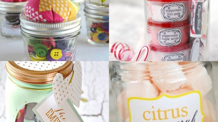 25 Craftsy Mason Jar Gift Ideas for Loved Ones