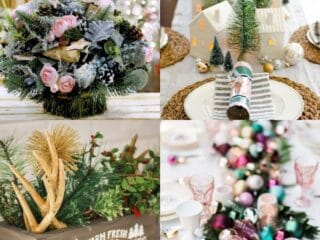 25 Festive Christmas Centerpiece Ideas