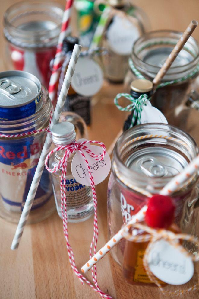 mason jar cocktail gift