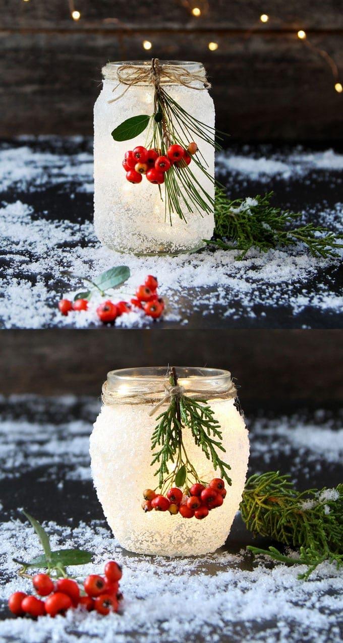 Frosty Mason Jars