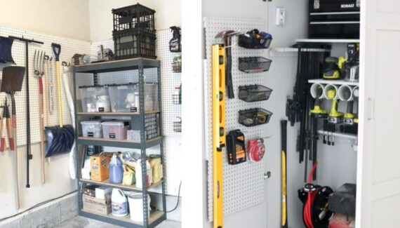 garage organizing tips