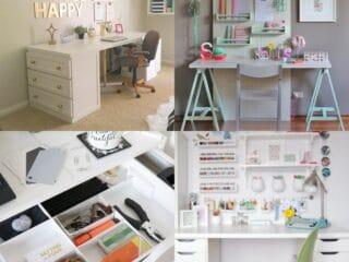 15 Clever IKEA Desk Hacks
