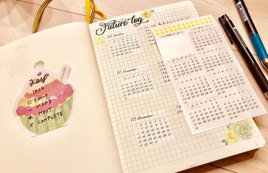 Mini Calendar Stickers