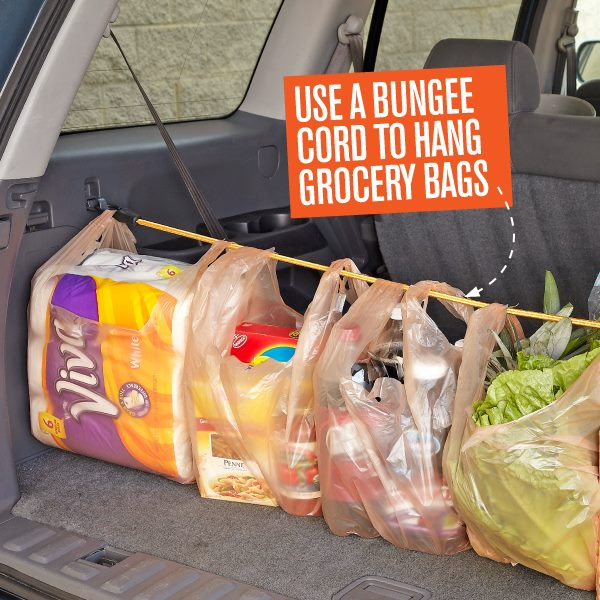 bungee cord grocery hangers