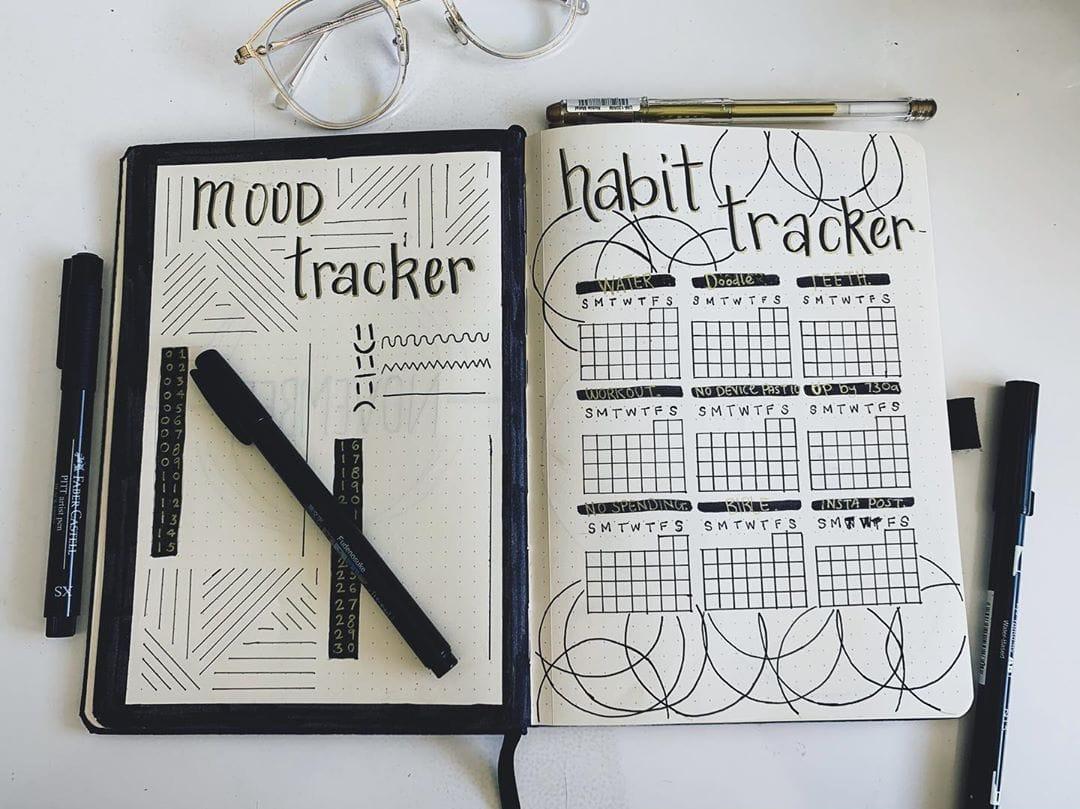 Geometric Mood Tracker