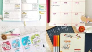 20 Creative Bullet Journal Future Log Ideas