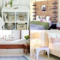 _20 Creative IKEA Bedroom Hacks