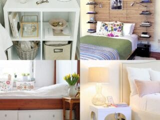 _20 Creative IKEA Bedroom Hacks