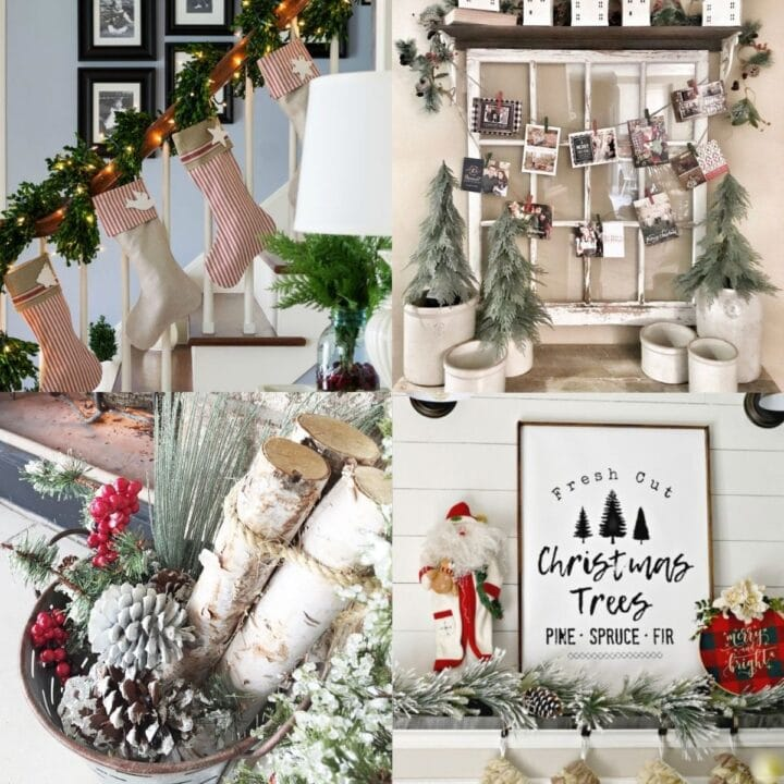 20 Farmhouse Christmas Decor Projects