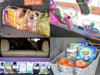 20 Lazy Car Organization Hacks