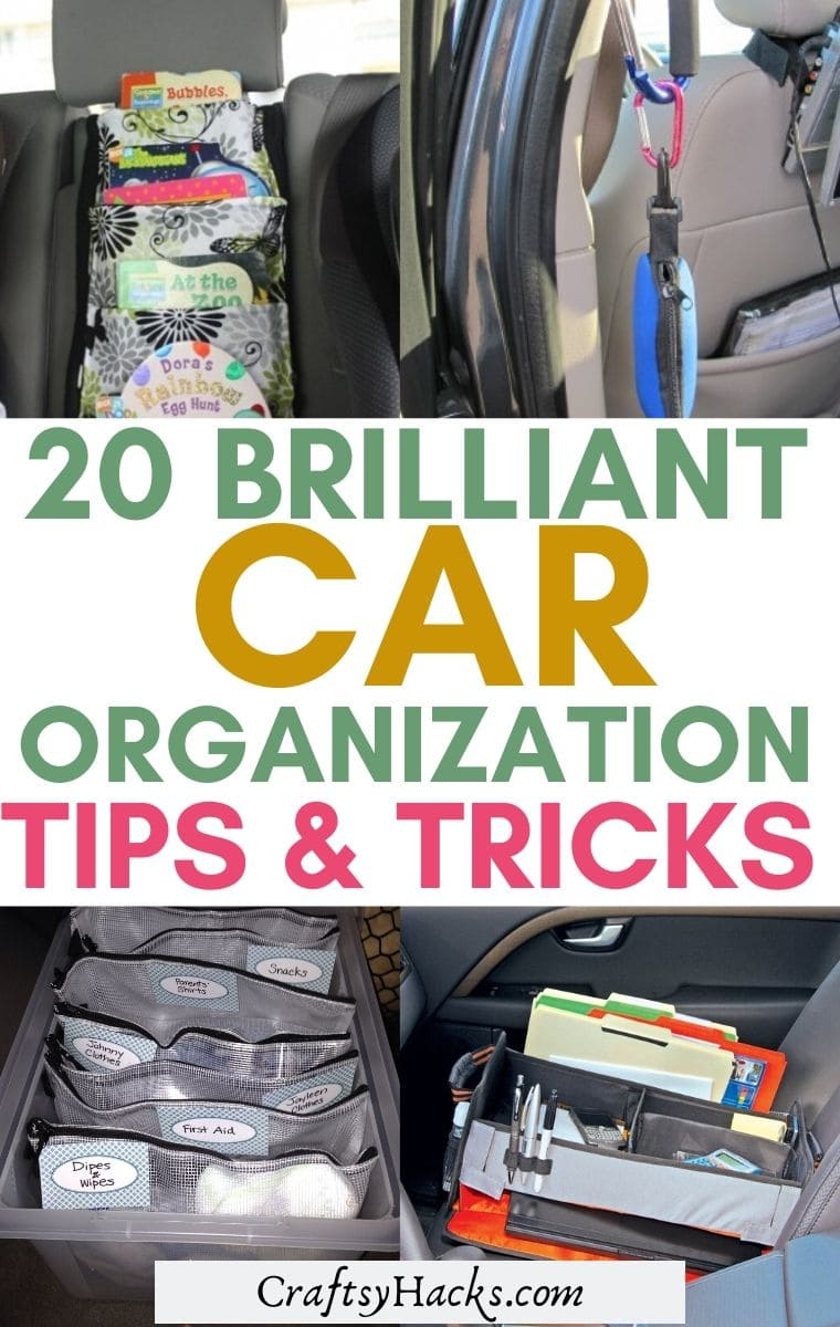 car organizing hacks