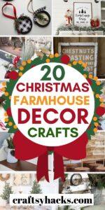 christmas farmhouse decor crafts