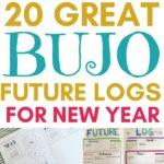 bullet journal future log ideas