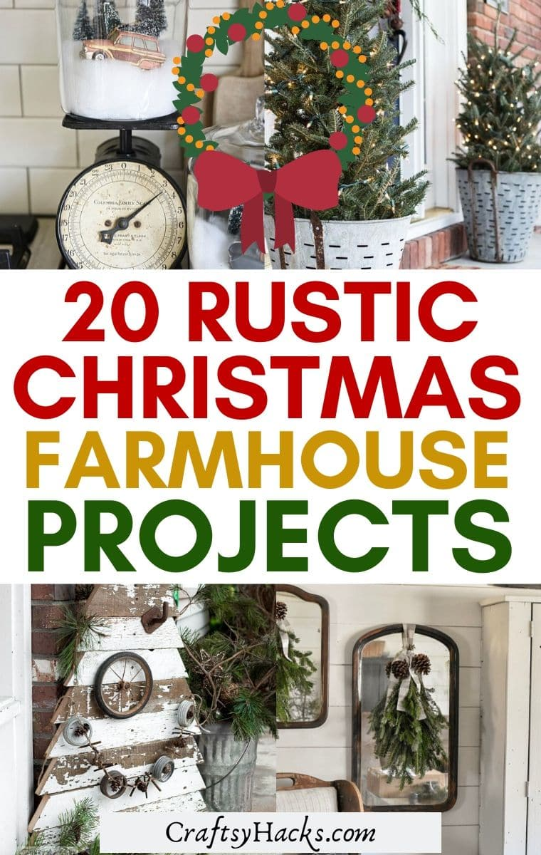 farmhosue christmas decor