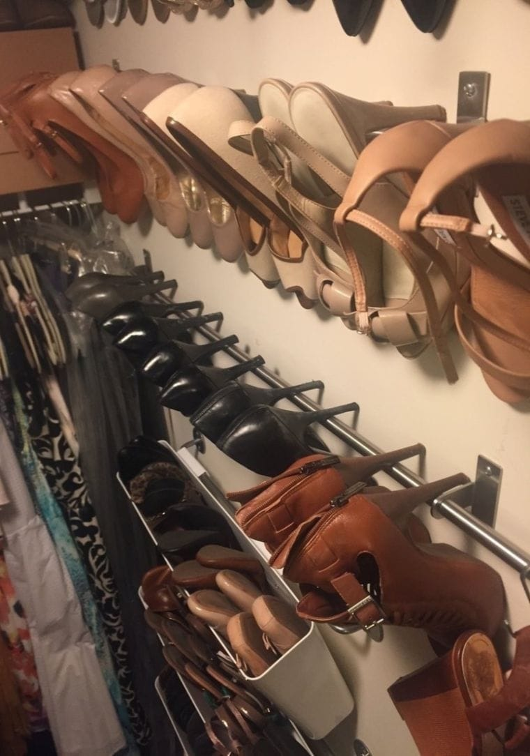 Shoe Storage Hack