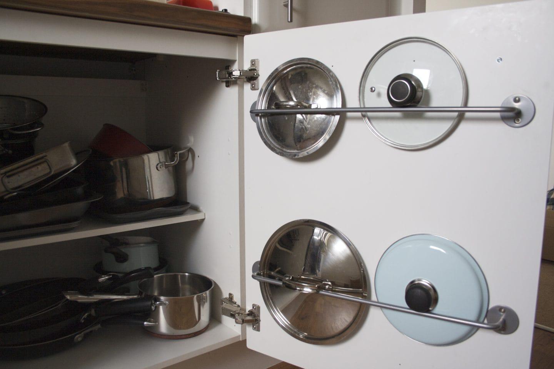 Bygel Rail for Organizing Cupboard