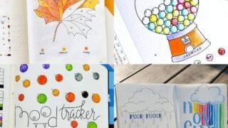 25 Bullet Journal Mood Tracker Ideas