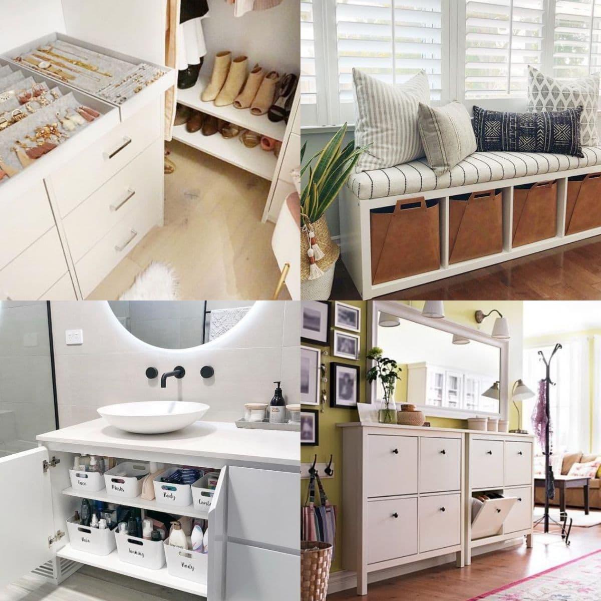 20 IKEA Hacks to Keep Things Organized   Craftsy Hacks