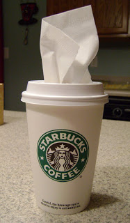 Paper Cup Car Tissue Dispenser