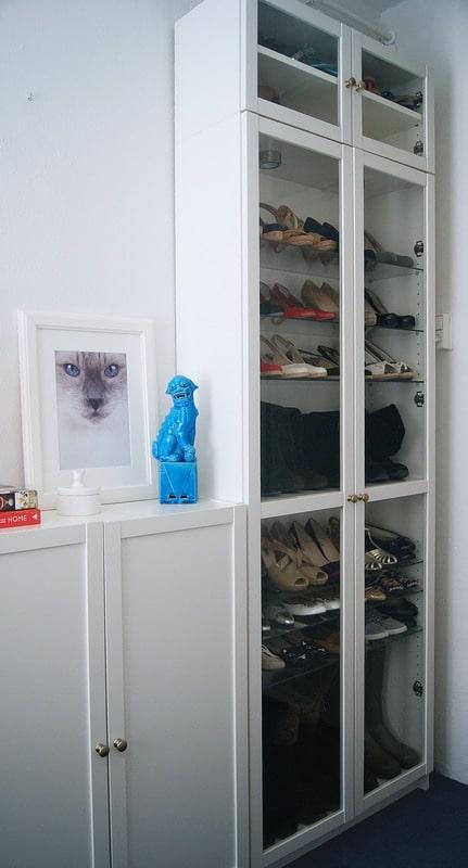 IKEA Billy Shoe Closet