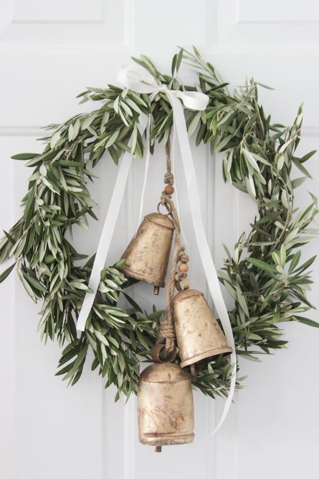 olive brand wreath