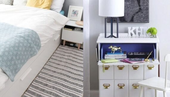 ikea bedroom hacks
