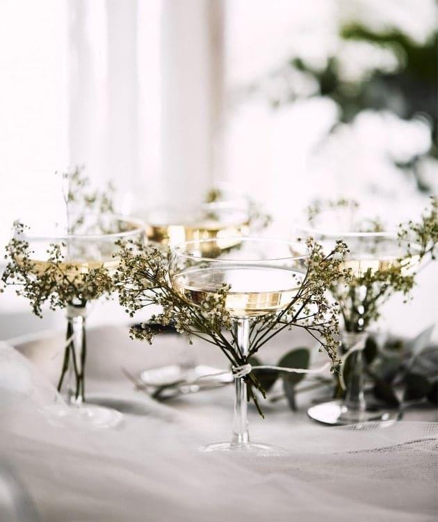 STORHET Champagne Glasses