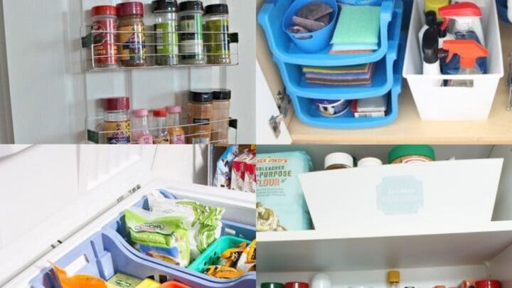 20 Dollar Store Organizing Tips for Kitchen
