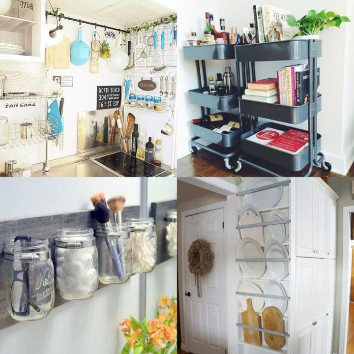 20 Practical Storage Ideas for Small Spaces