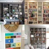 20 Unique IKEA Billy Bookcase Hacks