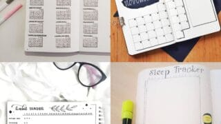 25 Minimalist Bullet Journal Spreads for Non-Artistic People