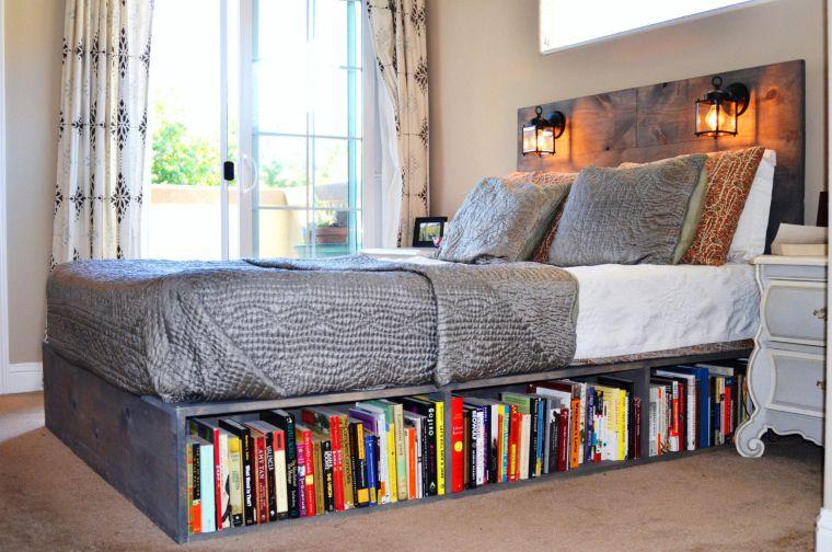 Bed Bookshelf