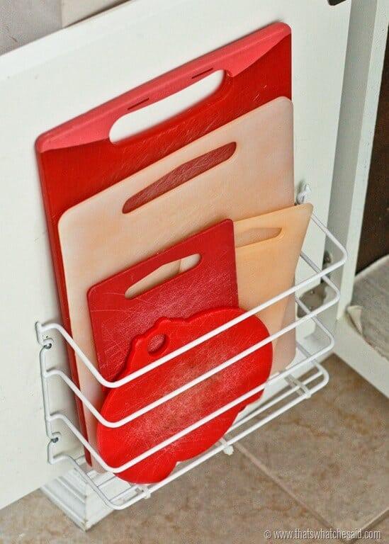 cutting board shelf