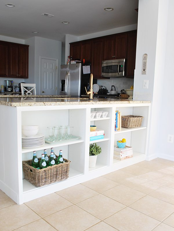 DIY Kitchen Under Counter Shelves