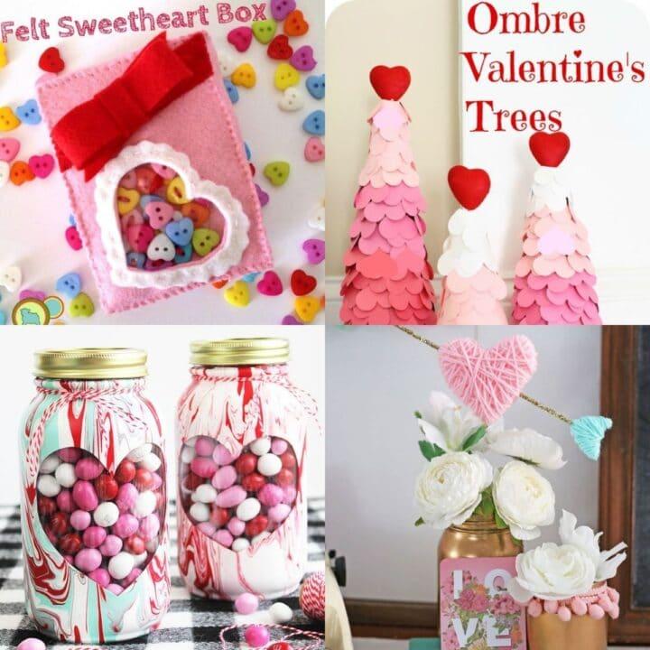 20 DIaY Valentine's Day Crafts