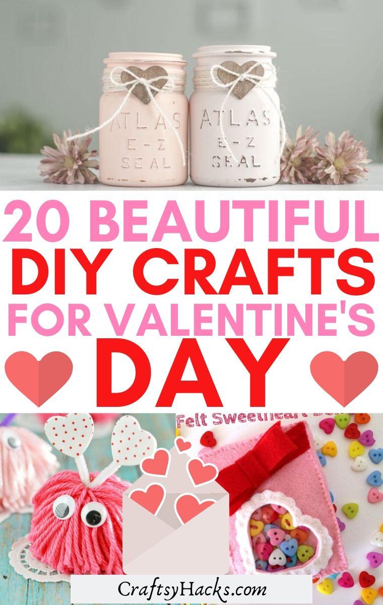 diy crafts for valetnines day