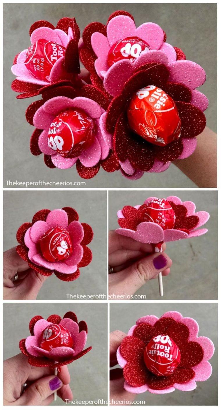 Lollipop Valentine's Rose
