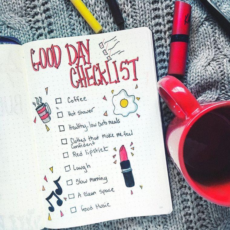 good day checklist