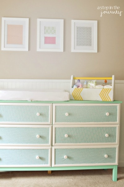 One-of-a-Kind Fabric Dresser