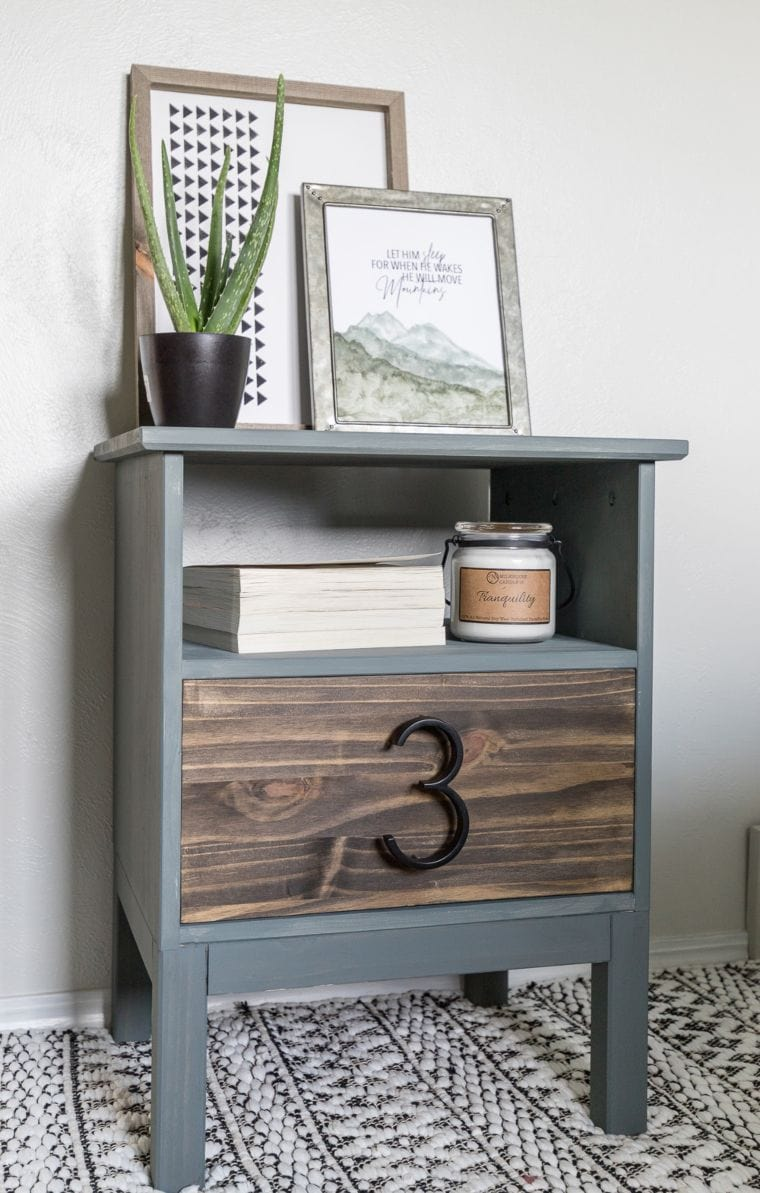 Colorblock Nightstand