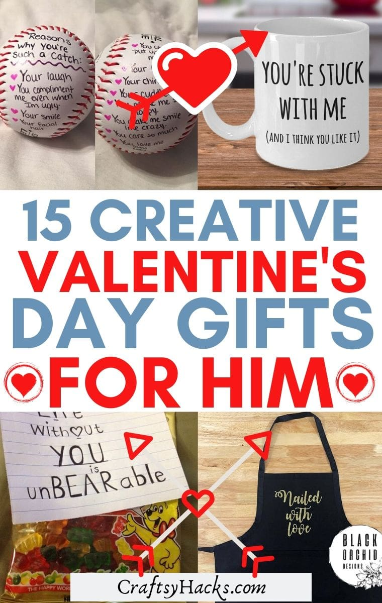 15 Valentine S Day Gift Ideas For Him Craftsy Hacks