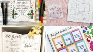 20 Bullet Journal Goal Page Ideas