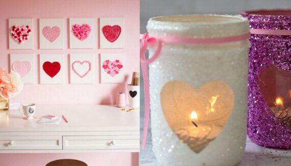 diy valentine's decorations