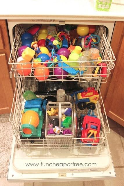 Sanitize Toys