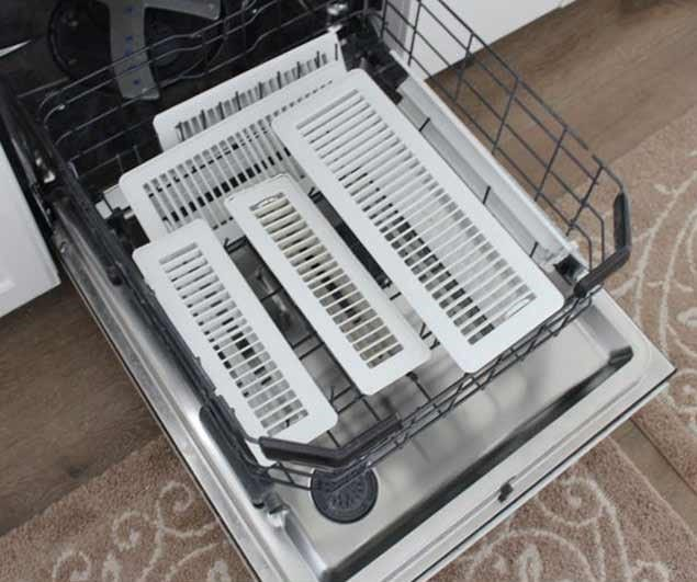 Dishwasher Vents