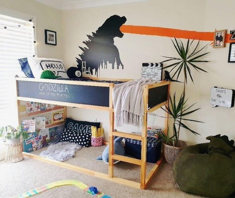 Godzilla Bed