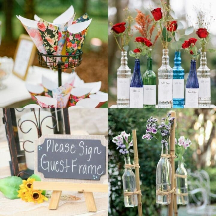 20 Creative Backyard Wedding Ideas